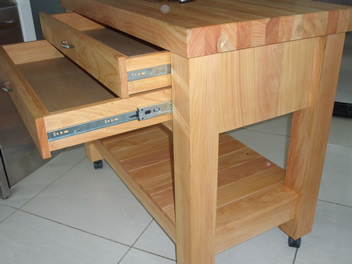 Butchers Block 2 drawer 2