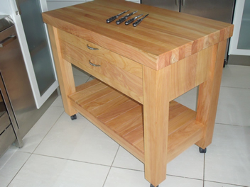 Butchers Block 2 drawer 3