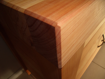 Butchers Block with drawer and cupboard 6