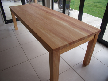 Solid Handcrafted Dining Table Made In New Zealand